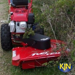 Rough-cut Mower/Brush Cutter with drive unit