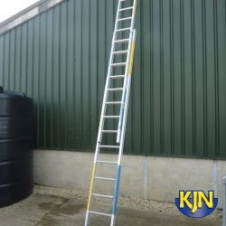 Extendable 6.1m Double Ladder