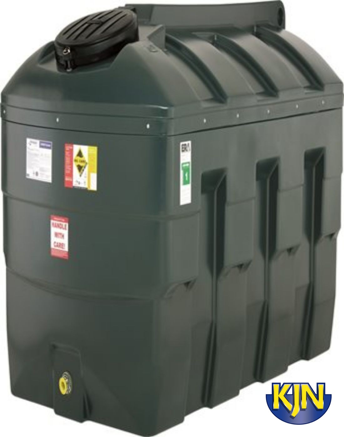 Harlequin 2500 Litre Bunded Tank With Apollo Gauge