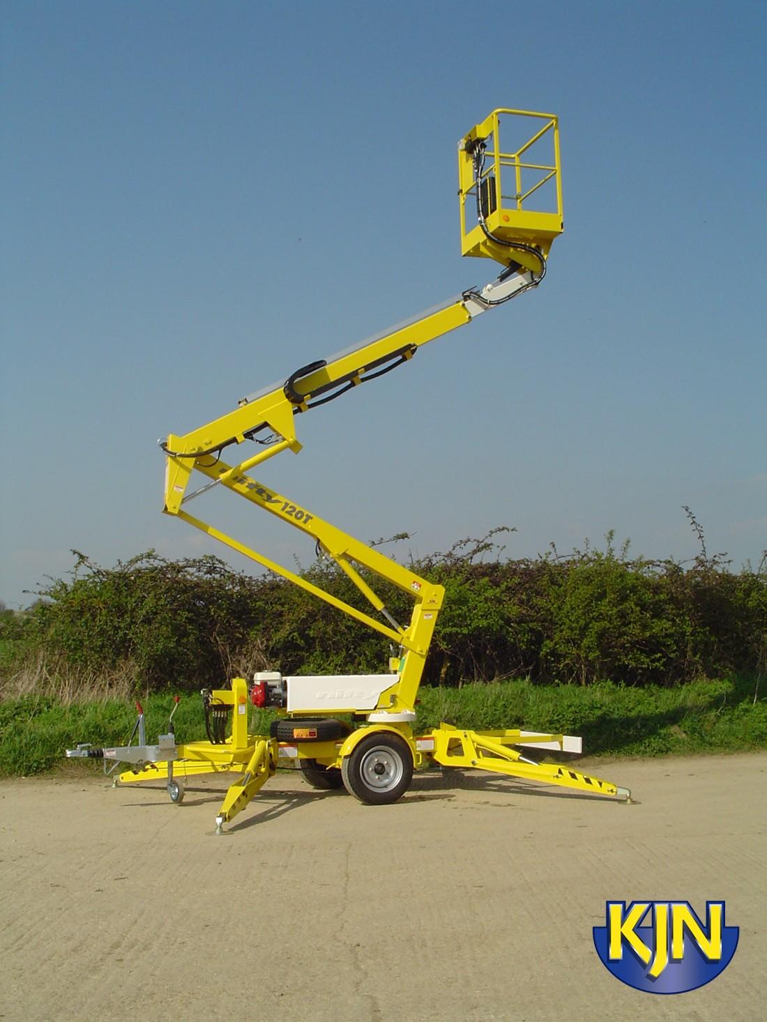 Niftylift 120T Trailer-mounted Platform