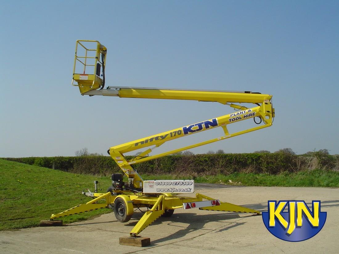 Niftylift 170 Trailer-mounted Platform