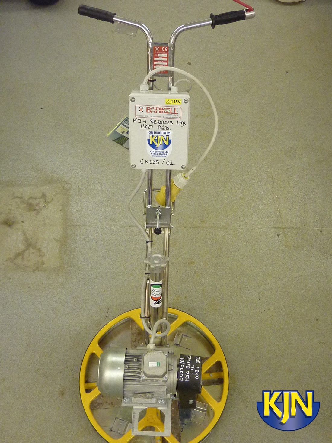 Power Float/Edging Trowel 110v