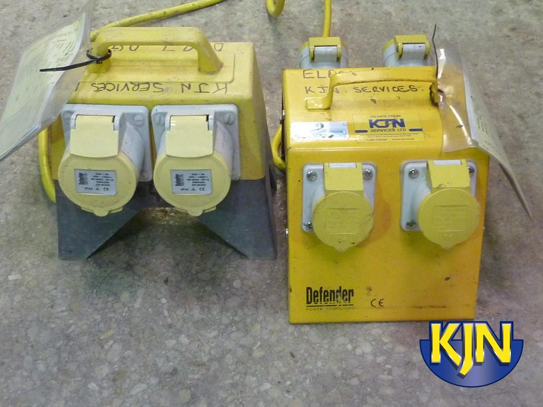 Splitter Box 4-Way 230v