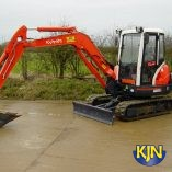 Kubota KX121 4 Tonne Excavator