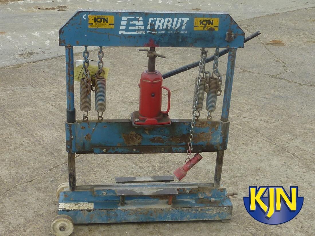 "Block Cutter 600 x 230mm/24"" x 9"" hydraulic"