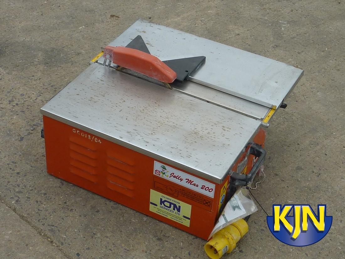 Tile Saw Bench Diamond max cut 200mm depth 30mm