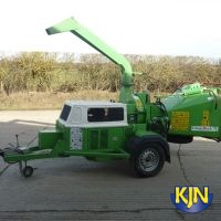 "Wood Chipper 200mm/8"" Towable"