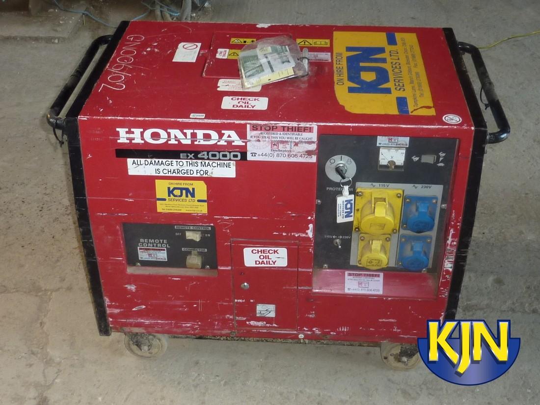 4000w Super-Silenced generator