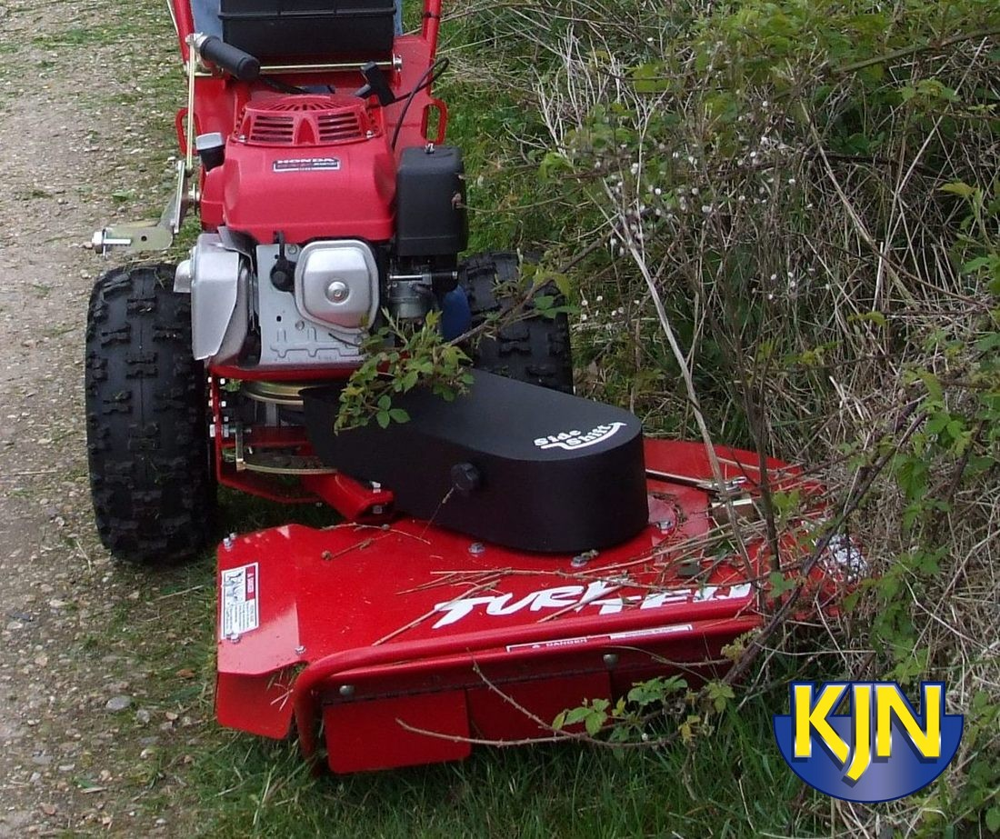 Rough-cut Mower/Brush Cutter with drive unit
