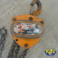 Chain Block 2 Tonne SWL 6m Lift