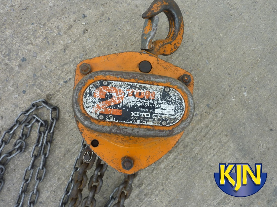 Chain Block 2 Tonne SWL 6m Lift