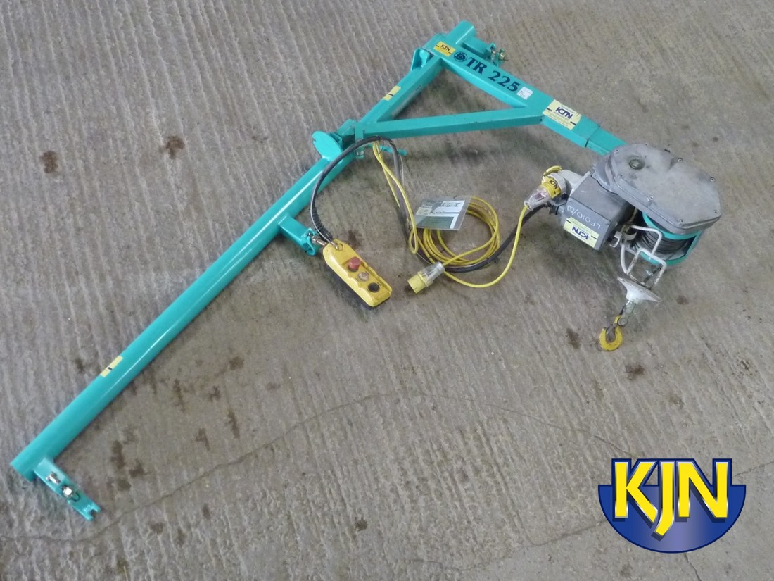 Wheelbarrow Hoist 200kg SWL