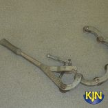 "Iron Pipe Cutter 3""-4"" hand operated"