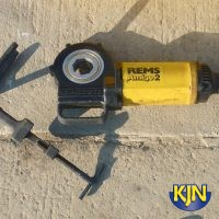 "1/2""-2"" BSP Handheld Electric Pipe Threader"