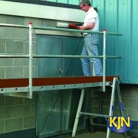 Single Guardrail Posts To Support Handrails