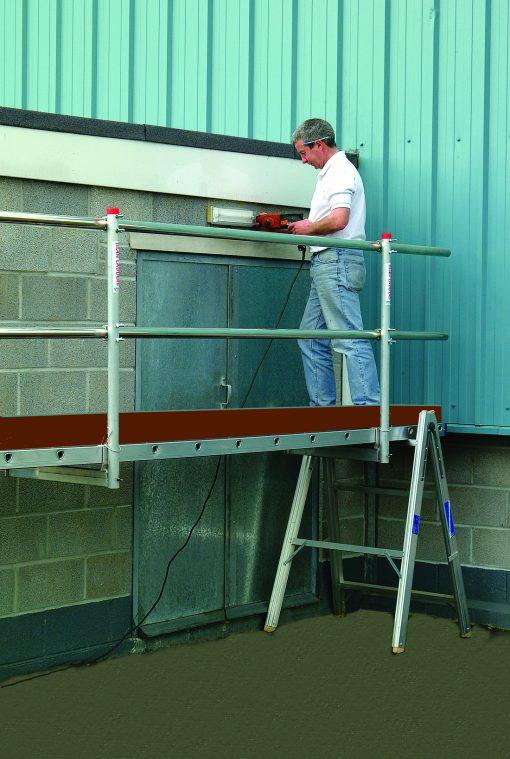 Single 6m Aluminium Handrails