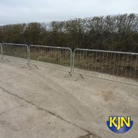 Pedestrian Barrier Galvanised 2.5m