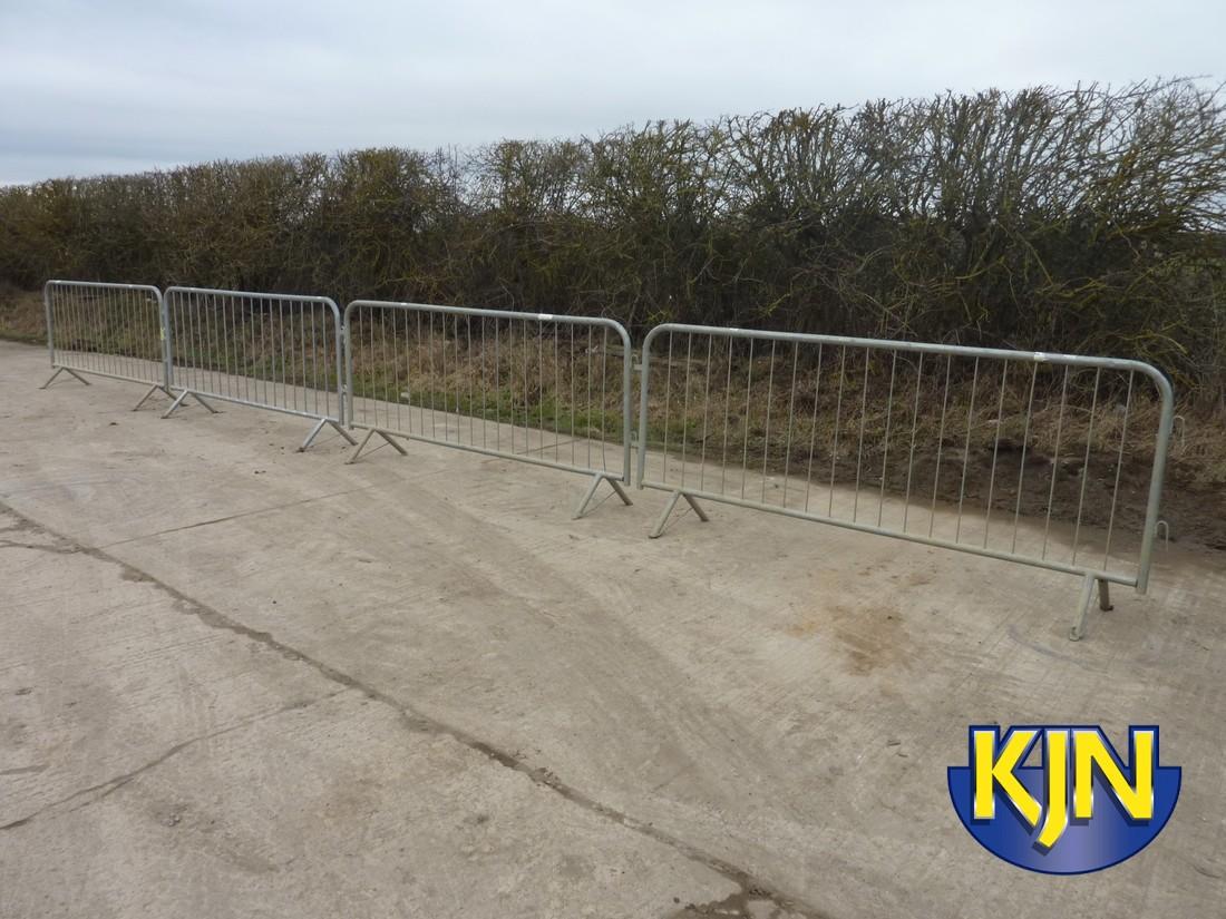 Pedestrian Barrier Galvanised 2.5m
