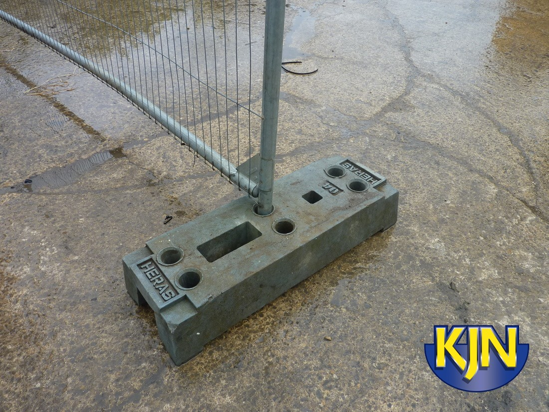 Additional Base for Security Fencing