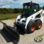 Angle Snow Blade Attachment for Skidsteer Loader